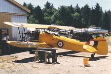 "Model Airplane Plans (FF): FLEET FINCH 1/9 Scale 38"" Biplane .75-1cc (.049ci)"