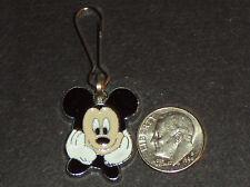 New Mickey Mouse Enamel Charm Zipper Pull Clip Cartoon Movie Characters No Stone