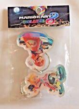 Nintendo® Mario Kart 8 Deluxe Key Chain Ring 2 pack Princess Peach & Mario