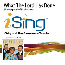 The Whisnants - What The Lord Has Done - Accompaniment Track