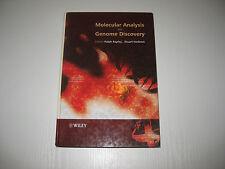 Molecular Analysis and Genome Discovery von Ralph Rapley und Stuart Harbron...