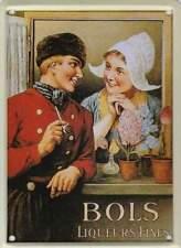 Metalen Kaart/Tin-Card/Blechkarte - Bols Liqueurs Fines (024)