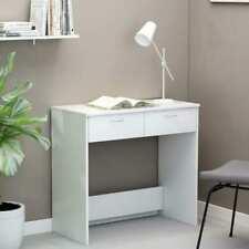vidaXL Schreibtisch Weiß Spanplatte Computertisch Arbeitstisch PC Tisch Kinder