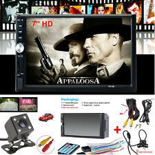 "7"" 2 Din HD Touch Screen Car Video MP5 Stereo Radio Audio Player+170° Camera 16G"