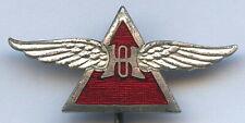 Sweden Vintage Osterman Helicopter Badge Pin Aviation Nice Grade !!!