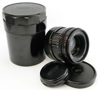!NEW! =RAREST= MMZ-LOMO HELIOS 44-2 58mm f/2 Russian Lens Screw Mount M42 MINT 1
