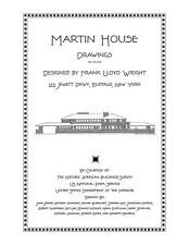 Frank Lloyd Wright Martin House Drawings - Plan Book