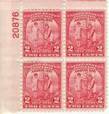 US stamp #717 -MNH- Plate Block - Boy&Girl Planting Tree (1932) 2¢