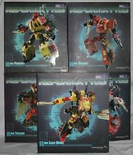 transformers mastermind creations feral rex complete set misb