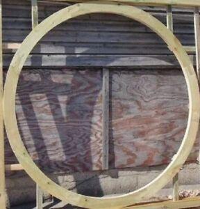 Wooden Garden Large Moon Circle