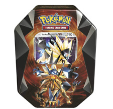New Sealed Pokemon Card Gx Box Necrozma-Gx Dusk Mane Booster Tin Box