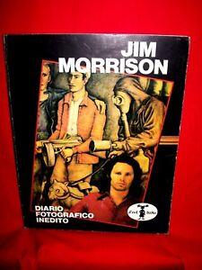 JIM MORRISON Doors Diario fotografico inedito 1983 130 pag. Rarità