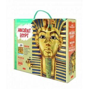 Sassi Junior | Art Treasures - The Mask of Tutankhamun Puzzle and Book Set