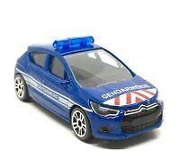 Majorette Citroen DS4 Blue Gendarmerie France S.O.S Car 1:64 245B Defected 003