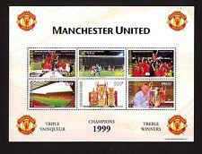 Benin 1210/5 ** Kleinbogen Manchester United , Sir Alex Ferguson , Triple-Sieger