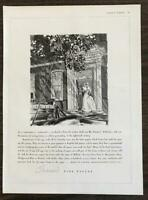 1936 Crane's Fine Papers PRINT AD Made in Dalton, Mass., Since 1801