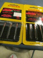 Singer Sewing Machine Needles 2020 SIZE 18 Heavy Duty Yellow Band Carded