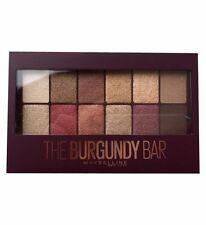Maybelline Burgundy Bar Nude Eye Shadow Palette Full Size New Sealed Authentic