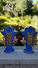 ancienne paire de vase de mariée napoleon 3