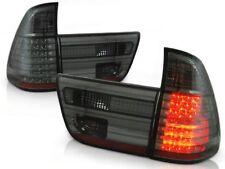 LED REAR TAIL LIGHTS LDBM23 BMW X5 E53 SUV 1999 2000 2001 2002 2003 SMOKE
