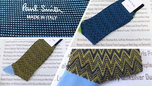 PAUL SMITH Italian made Sock Mens O/S Chevron Stripe Asstd Col 1pk Socks BNWT