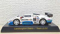 1/64 Kyosho LAMBORGHINI DIABLO RACING TEAM JLOC #88 diecast car model