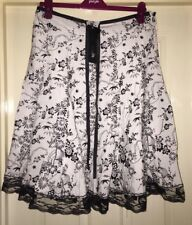BNWT CKM Lace Edged Boho Skirt, Size L (14-16) - Stunning!