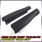 Fit For Ford F250 F350 Right Left Side Flex Step Tailgate Molding Trim Cap Black