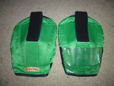 Racesafe Shoulder Pad Protectors for body protector size adult large green