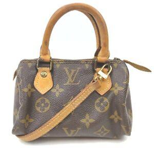 Louis Vuitton Hand Bag M41534 Mini Speedy Browns Monogram 1902063