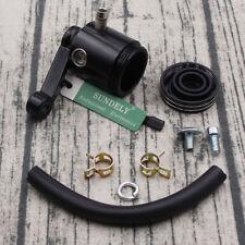 CNC BRAKE CLUTCH MASTER CYLINDER FLUID RESERVOIR TANK OIL CUP MOTORCYCLE BLACK