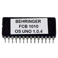 Behringer FCB1010 Uno V1.0.4 Upgrade Custom Firmware Chip Eprom
