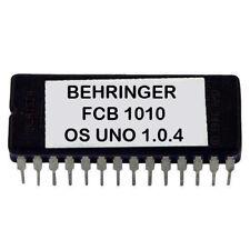 Behringer FCB1010 UnO V1.0.4 Upgrade Custom Firmware Chip