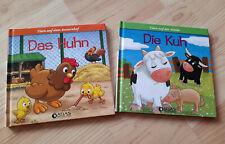 ? 2 Bücher zum Vorlesen ? Bilderbücher ? Kuh + Huhn ? ab 3