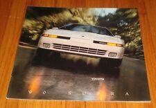 Original 1990 Toyota Supra Deluxe Sales Brochure