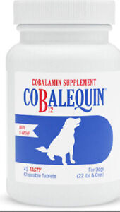 Cobalequin Cobalamin Supplement for Small Dogs & Cats 45ct Chewable Tablets