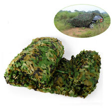 Hunting Camo w/ String Netting 26 x 26Ft Woodland Leaves Military Camouflage Net