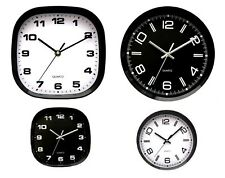 Large Wall Clock Vintage Kitchen Bedroom Home Round Modern Retro Time Quartz