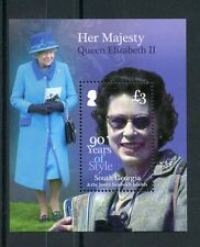 South Georgia & Sandwich Isl 2016 MNH Queen Elizabeth II 90th Bday 1v S/S Stamps