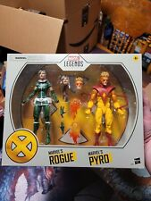 "Marvel Legends 6"" Pyro and Rogue Two Pack X-Men New Sealed Free Shipping"