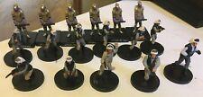 star wars miniatures lot 17 figurines Rebel trooper - imperial assault - Legion