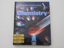 HOLT CHEMISTRY CALIFORNIA TEACHER'S EDITION By Ph.d. R. Thomas Myers - NEW