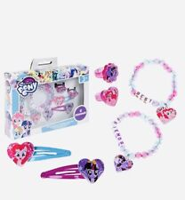 My Little Pony jewellery girls Accessories Set Hair Clips Bracelets Ring 6pc