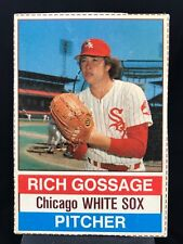 "1976 Hostess #77 Rich ""Goose"" Gossage *EX+* Chicago White Sox (0818)"