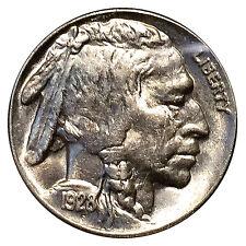 Superb - 1928 P Buffalo Nickel - Gem BU / MS Strong / Unc - High Grade Coin
