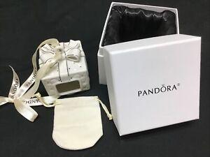 Pandora Christmas Ornament 2016 Gift Box Porcelain Charm Holder Limited Edition
