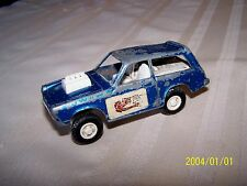 VTG Tootsietoy Tootsie toy 70's Vega Sport Ranch Blue Made in USA diecast toy