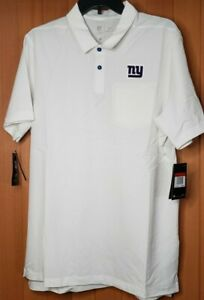Nike New York Giants Polo Shirt OnField Dry Fit Men's Sz L New with Tags !