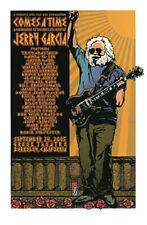 Comes A Time Jerry Garcia Memorial Greek Theatre Poster G. Houston Grateful Dead