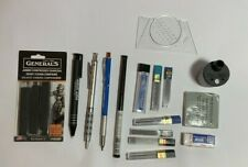 Mixed Lot Pentel GraphGear 1000 Drafting Pencil Graphite Mechanical charcoal